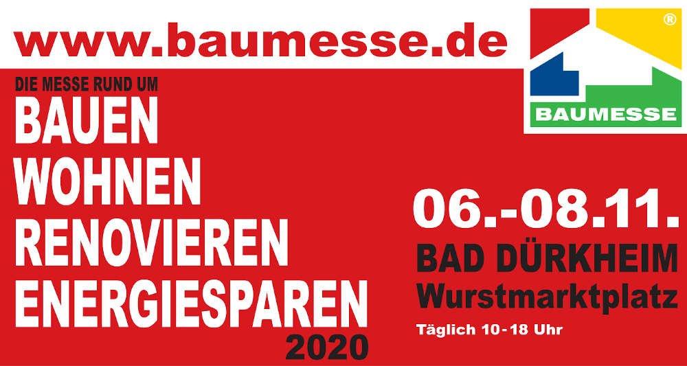 Baumesse 2020 in Bad Dürkheim (Quelle: BaumesseE GmbH)