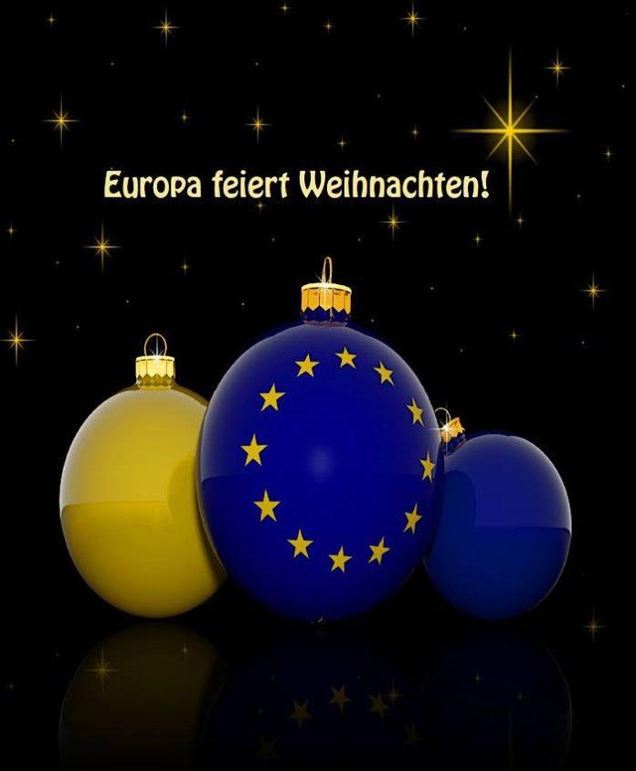 """Das Weihnachtsbuch """"Europa feiert Weihnachten"""" (Quelle: Europe Direct Darmstadt)"""