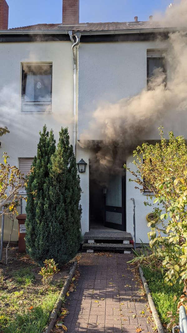 Starke Rauchentwicklung (Foto: Feuerwehr Neustadt)