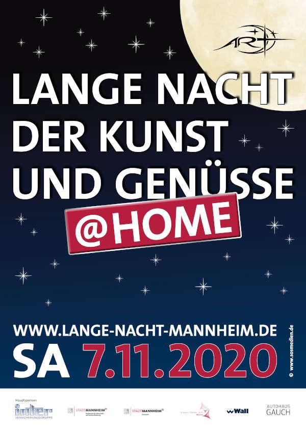 Plakat Lange Nacht 2020