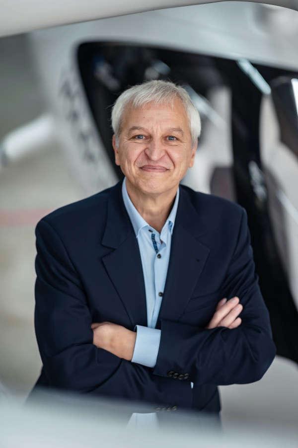 Jochen Ehlgötz, Geschäftsführer der TechnologieRegion Karlsruhe GmbH (Foto: ARTIS-Uli Deck)
