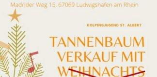 Tannenbaumverkauf 2020 (Quelle: Kolpingjugend St. Albert Ludwigshafen)