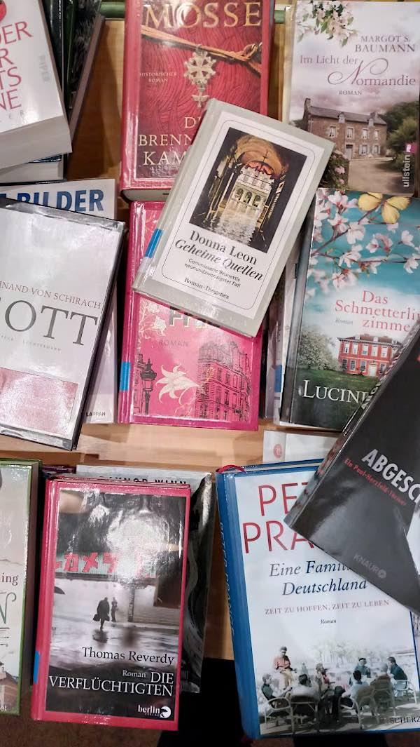 Bücher (Quelle: Stadtbücherei Lambrecht)