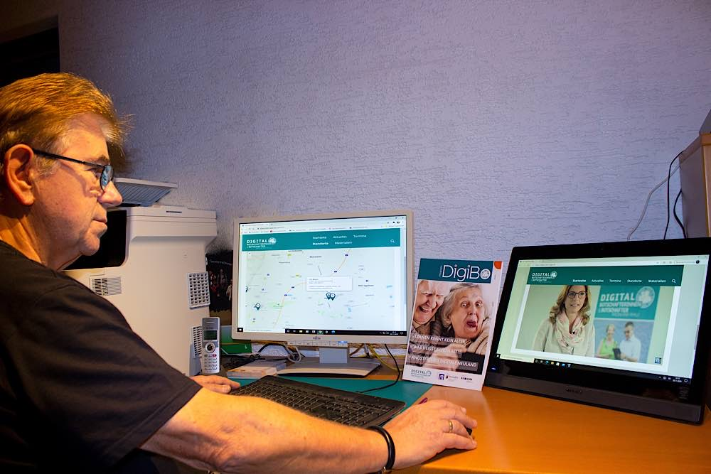 Digitalbotschafter Otto Messer (Foto: Gemeindeverwaltung Haßloch)