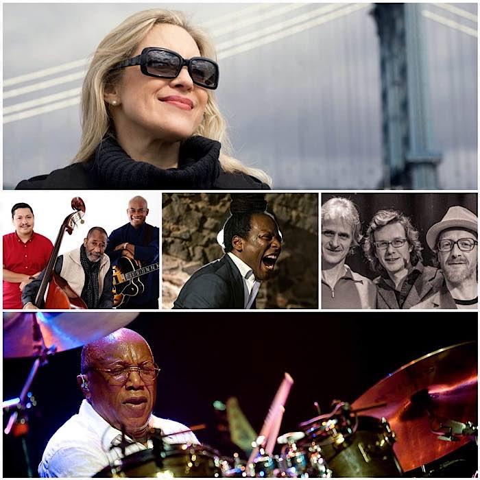 Die Künstler der Jazztage Weinheim 2021 (Foto: PR)