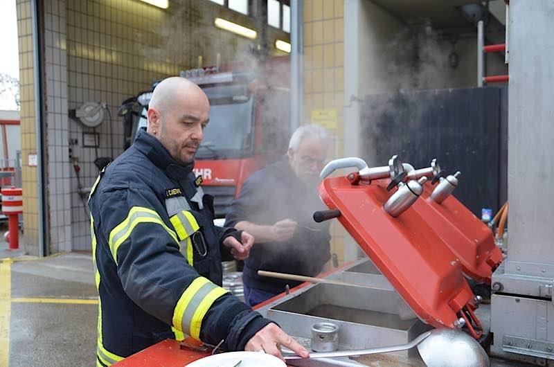 Feuerwehrmann Nermin Canetovic (Foto: Feuerwehr Neustadt)