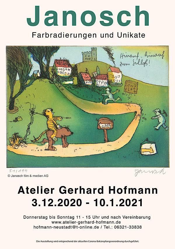 Janosch-Ausstellung im Atelier Gerhard Hofmann