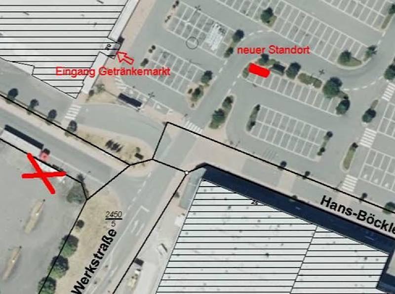 Neuer Standort (Foto: Gemeindeverwaltung Haßloch)