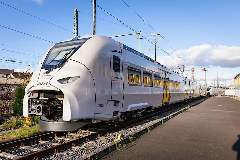 Der neue Mireo (Quelle: Trans Regio, Foto: Smilla Dankert)