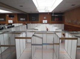Das Impfzentrum Frankenthal (Foto: Pressestelle FT)