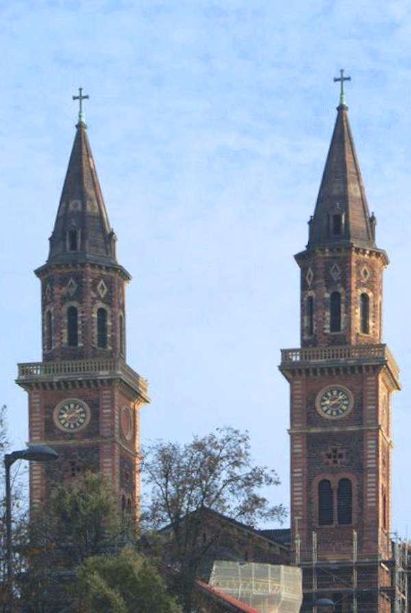 Türme St. Ludwig (Foto: Kath. Stadtdekanat Ludwigshafen)