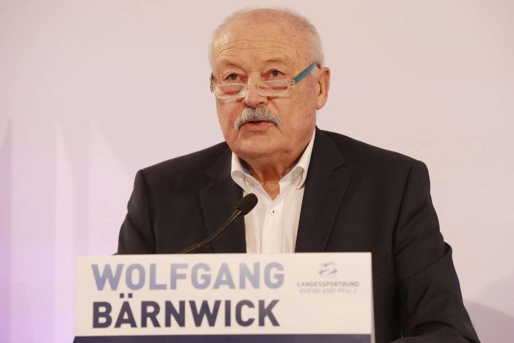 LSB-Präsident Wolfgang Bärnwick (Foto: LSB/Bernd Eßling)