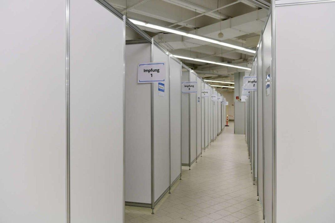 Landesimpfzentrum Ludwigshafen (Foto: Stadt Ludwighafen)