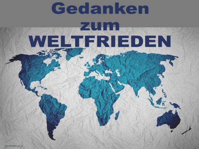 Gedanken zum Weltfrieden - Foto Pixabay yuri_b