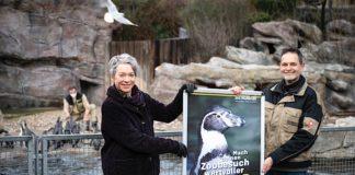 Dr. Ina Hartwig und Zoodirektor Dr. Miguel Casares (Foto: Salome Roessler)