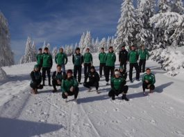15 Aktive und zwei Trainer starten mit einem Langlauftrainingslager in die Olympiasaison (Foto: Rheinbrüder Karlsruhe)