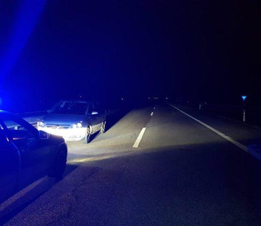 Stoppsituation auf der BAB 650 (Foto: Polizei RLP)
