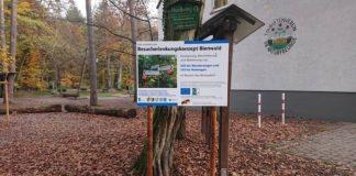 Schild am Naturfreundehaus (Foto: Kreisverwaltung Germersheim)