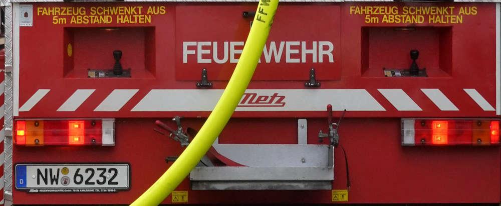 Drehleiter Feuerwehr Neustadt an der Weinstraße (Foto: Holger Knecht)