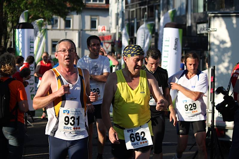 Bild vom Altstadtlauf in Ettlingen (Foto: Hannes Blank)
