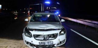 Unfallbeteiligter PKW (Foto: Polizei RLP)