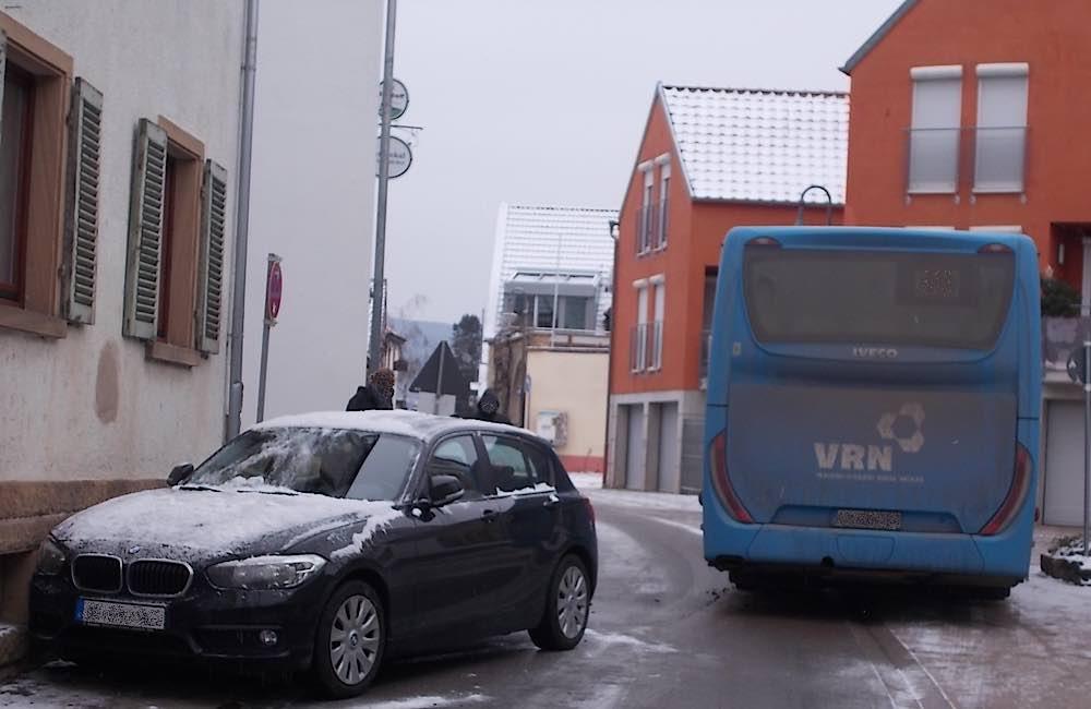 Verkehrsunfall in Ruppersberg (Foto: Polizei RLP)