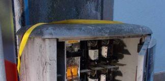Stromverteilerkasten (Foto: Polizei RLP)