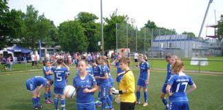 Fußball-Junorinnen (Foto: Hannes Blank)