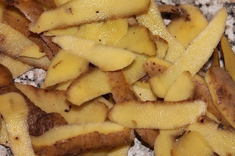 Symbolbild Kartoffelschalen Biomüll (Foto: Pixabay/kalhh)