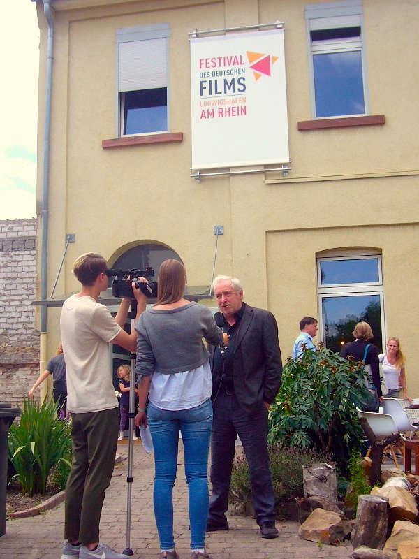 Interview (Foto: Hannes Blank)