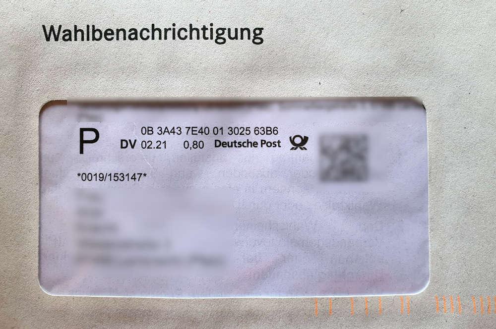 Symbolbild Wahlbenachrichtigung (Foto: Metropolnews)