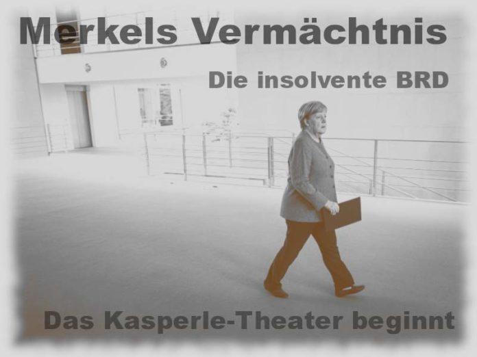 Merkels Erbe - Die insolvente BRD – Das Kasperle-Theater beginnt - Foto: Bundeskanzleramt