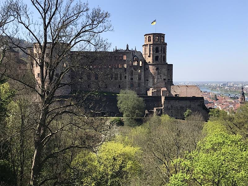 Schloss Heidelberg (SSG-Pressebild/Anja Stangl)