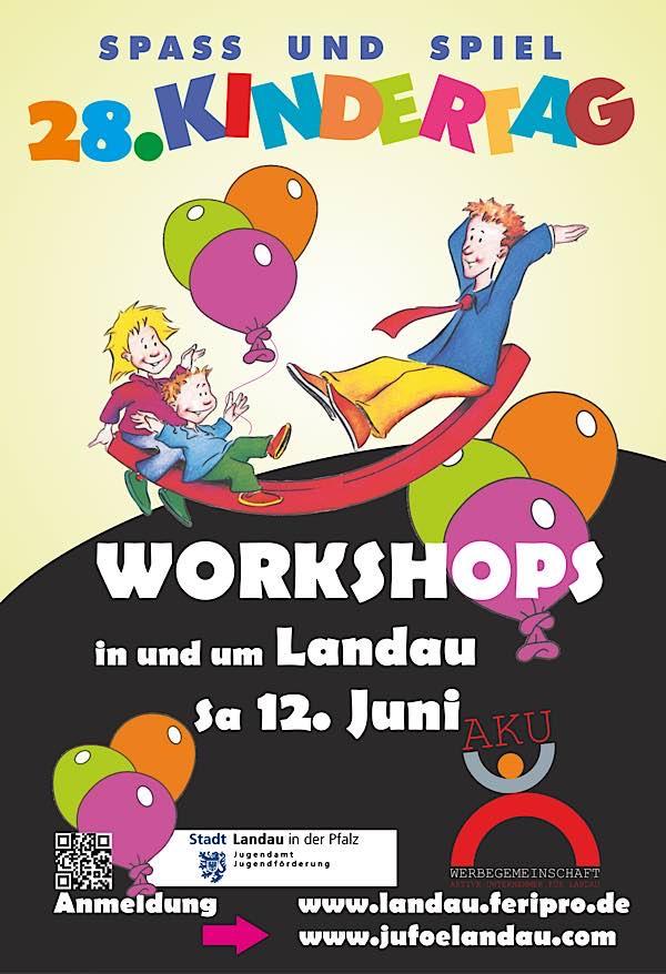 Der Landauer Kindertag soll am 12. Juni als Workshop-Tag stattfinden. (Quelle: Stadt Landau)