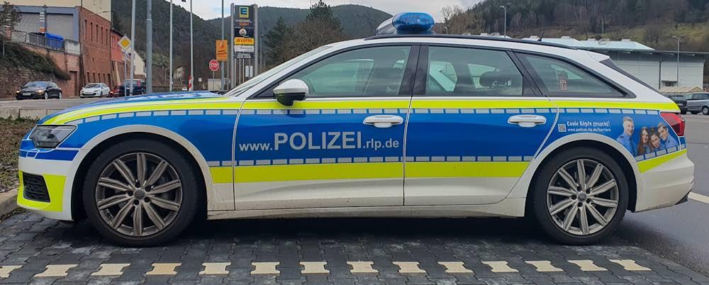 Funkstreifenwagen der rheinland-pfälzischen Polizei (Foto: Holger Knecht)