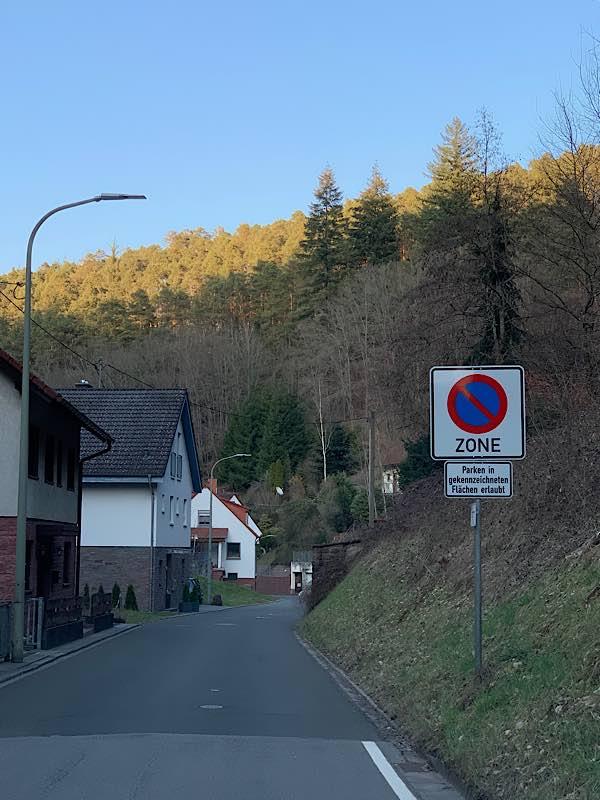 Die Hasselbachstraße in Elmstein (Foto: privat)