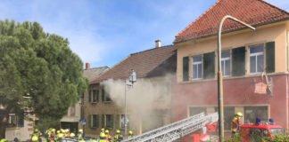 Feuerwehr der VG Deidesheim im Einsatz (Foto: Polizei RLP)