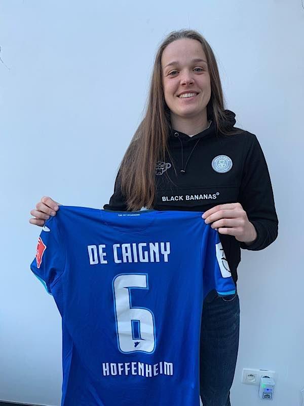 Tine De Caigny (Foto: TSG 1899 Hoffenheim Frauenfußball)