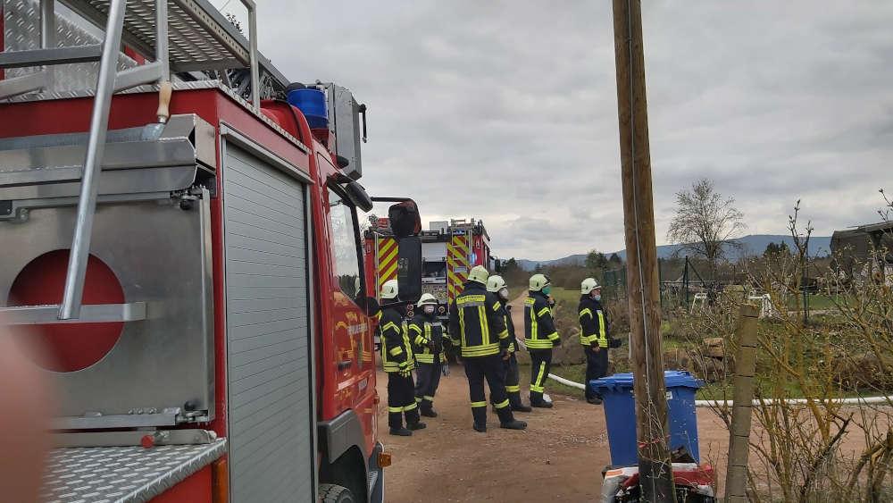 Feuerwehreinsatz (Foto: Feuerwehr Haßloch)