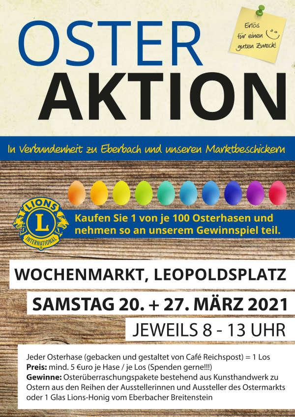 Plakat (Foto: Lions-Club Eberbach)