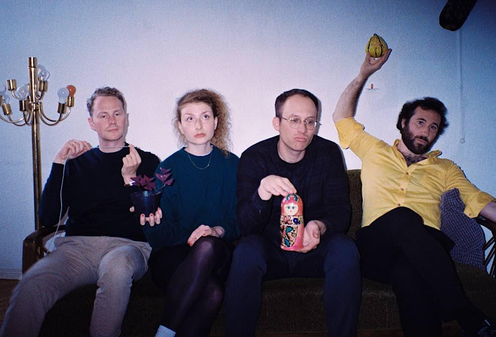 Die Autoren Jennifer Beck, Fabian Ebeling, Steffen Greiner, Mads Pankow (Foto: Julia Grüßing)