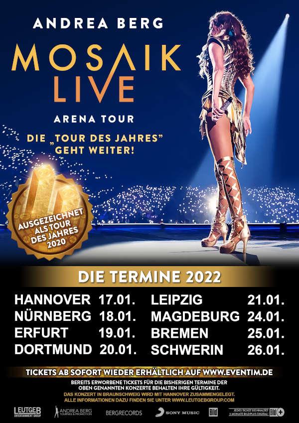 Andrea Berg - Tour