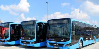 """Neue Busse für das Linienbündel """"Germersheim Süd"""" (Foto: Jan Kowalski/DB Regio Bus Mitte)"""