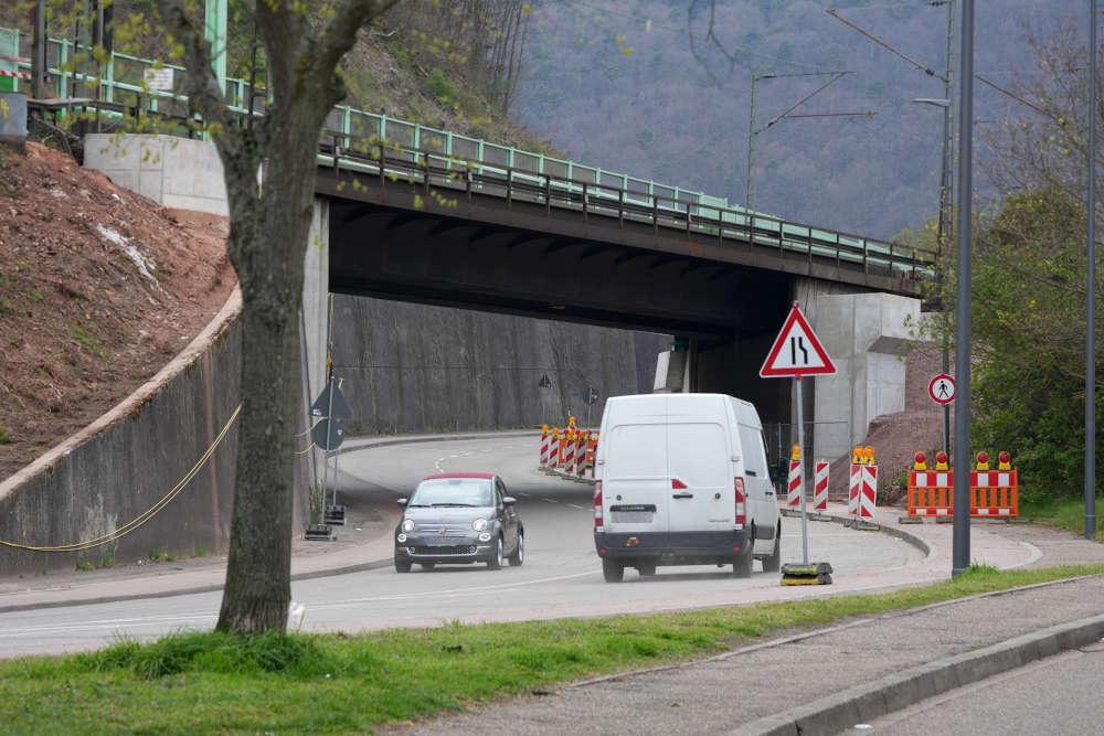 Die B 39 nach der Verkehrfreigabe (Foto: Holger Knecht)