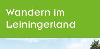"""Titelseite der neu aufgelegten Broschüre """"Wandern im Leiningerland"""", herausgegeben vom Tourismusverein """"Leiningerland. Das Tor zur Pfalz e.V."""""""