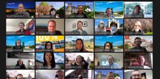 Screenshot Videokonferenz (Foto: KTG Karlsruhe Tourismus GmbH)
