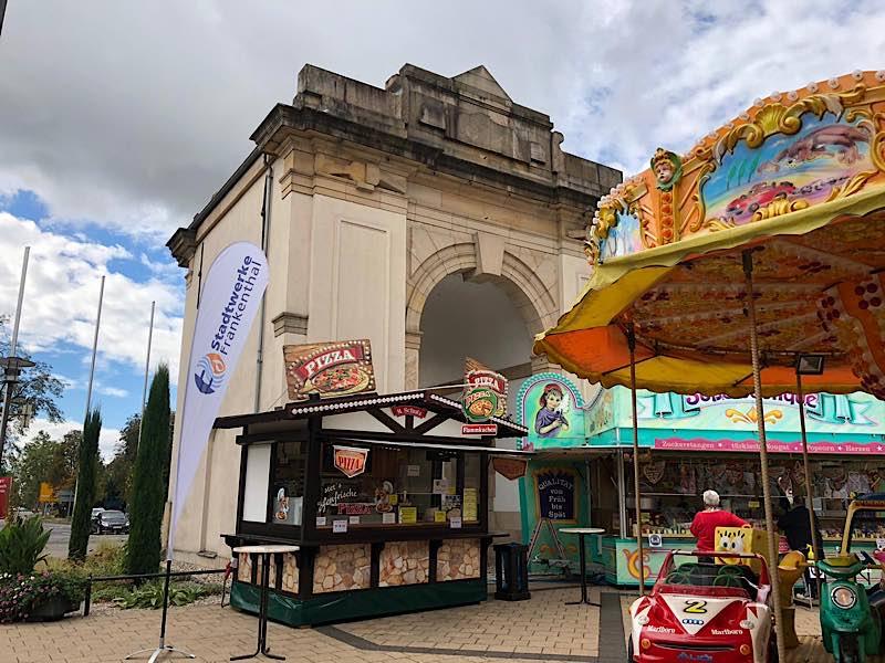 Mini-Jahrmarkt am Speyerer Tor (Foto: Pressestelle Stadt Frankenthal)