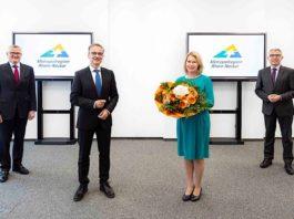 Wechsel in der Geschäftsführung der MRN GmbH von Dr. Christine Brockmann zu Peter Johann (Foto: MRN GmbH)