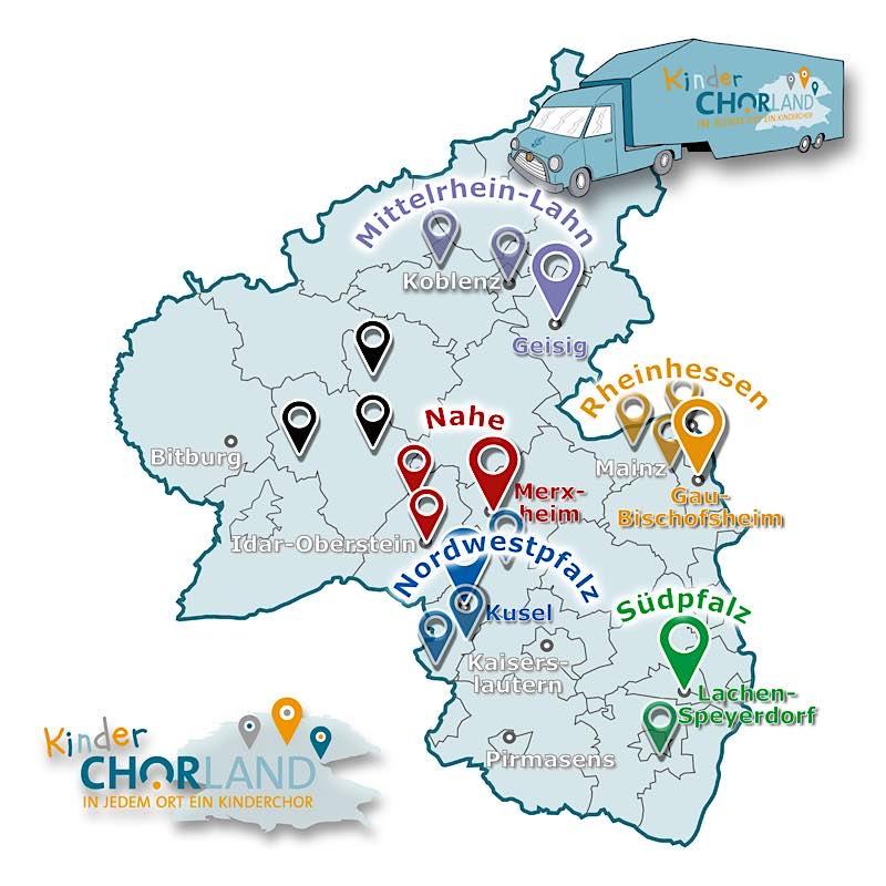 Tourkarte (Grafik: Nadja Donauer)