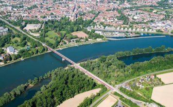 Luftbild Speyer (Foto: Klaus Venus)